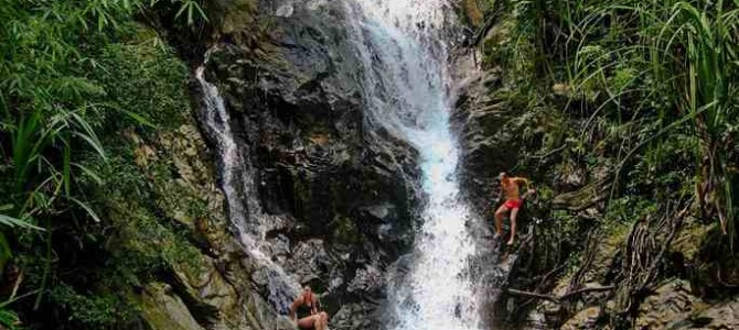 {take a tour} El Nido Tour E : Inland Beaches, Hot Springs & Waterfalls