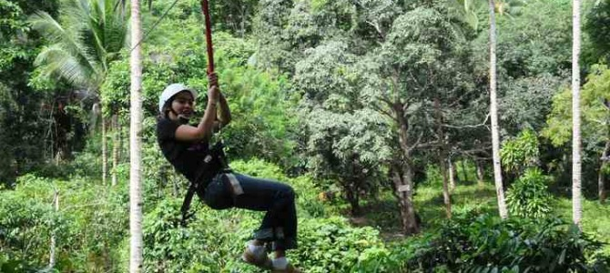 {take a tour} Irawan Eco Adventure & Zipline Tour