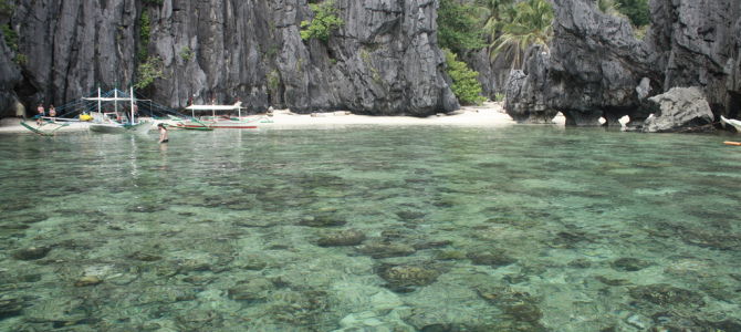 {take a tour} El Nido Tour A : Lagoons & Beaches
